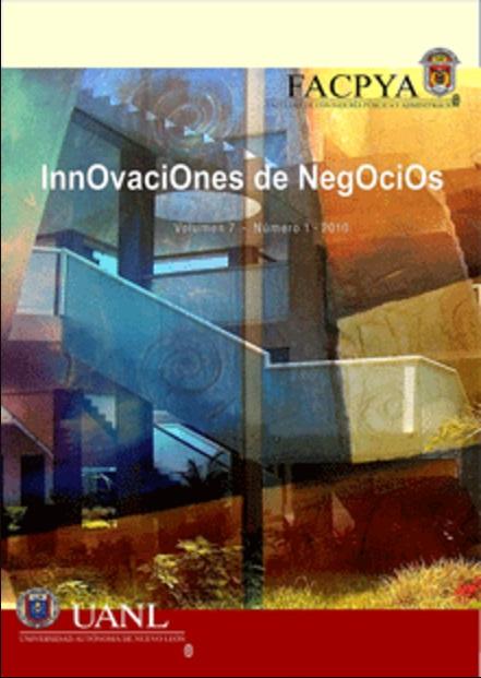 Ver Vol. 7 Núm. 13 (2010): Enero-Junio, 7(13)