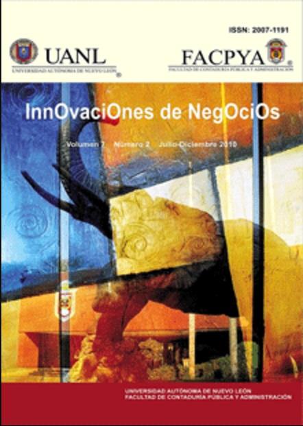 Ver Vol. 7 Núm. 14 (2010): Julio-Diciembre, 7(14)