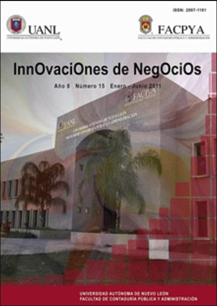 Ver Vol. 8 Núm. 15 (2011): Enero-Junio, 8(15)